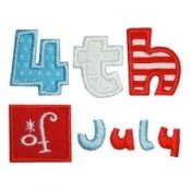 Boy July 4th Patriotic Applique T-shirts - Toddler & Big Boys