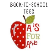 Boy Back to School Applique T-shirts - toddler & big boys