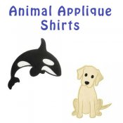 Boy Animal Applique T-shirts - Toddler & Big Boys