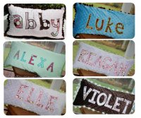 Personalized Applique Pillows