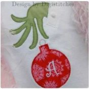 Girl Christmas/winter Applique T-Shirts - Toddler and Big Girls